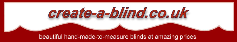 Quality Made To Measure Roller Blinds up to 12 Feet wide - create-a-blind.co.uk